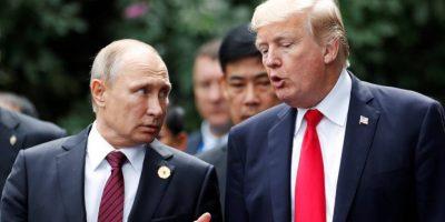 Trump Putin Rusa