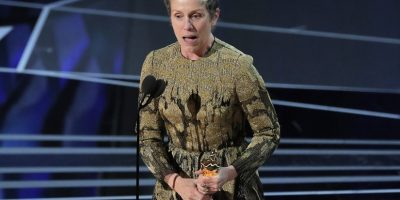 Frances McDormand's #MeToo