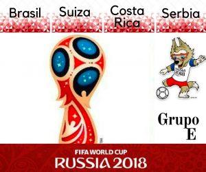 GRUPO E Mundial Rusia 2018