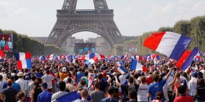 Francia celebra Europa